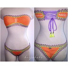 Fresh fruit bikini by beijobaby on Etsy