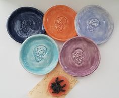 Halloween Skull Dish Gift Skull Trinket Dish Decor Halloween Party Price is for one While supplies last Halloween Soap With Purchase Last Halloween, Halloween Skull, Halloween Party Favors, Mother Day Gifts, Favorite Color, Cake Toppers, Soap, Dishes, Creative