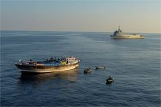 BIMCO Calls for Naval Action to Combat Piracy in Gulf of Guinea – gCaptain Horn Of Africa, Daily Water, Landing Craft, Sailing Adventures, Somali, Pirates, Action, Boat, Helicopters