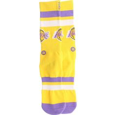 Stance x NBA Los Angeles Lakers Socks (yellow) M313ALAK-YEL - $14.00