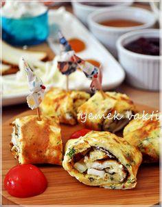 En İyi Yemek Tarifleri Sitesi-Yemek Vakti: Rulo Yumurta