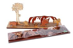 Buy Australian Outback Landscape Puzzle Online | Australian Woodwork