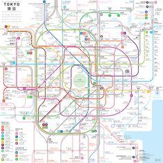 4-subway-maps-tokyo – Fubiz™