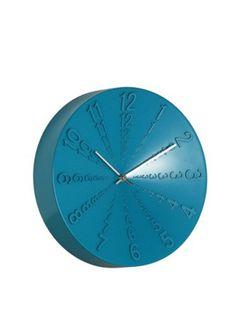 A Loja do Gato Preto | Relógio Alto Relevo Azul #alojadogatopreto