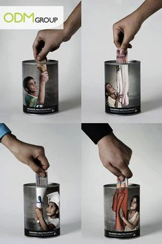 Marketing Idea - Collection Box for Charity Drive