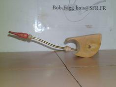 Fantasy long stem ladies boxwood pipe handmade by B.F pipes