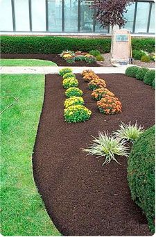 recycled playground mulch