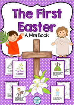 Printable mini book about the first Easter. Great for Religious Education during Holy Week!