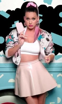 """This is one of the two of my favorite looks from the music video """"This Is How We Do"""""""