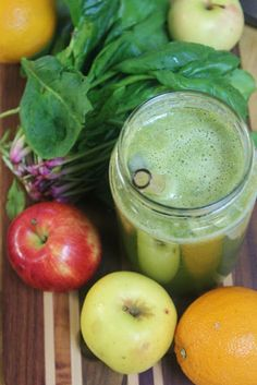 Green juice = good for skin!