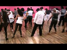 This one is pretty easy to pick up. Blurred Lines Line Dance - YouTube