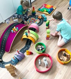 Love to see all our beautiful toys in action. Wobbel, Grimm's, Way to Play and Ostheimer work so perfectly together and will facilitate hours of open ended play. Have you started you collection yet?? #openendedplay #grimmswoodentoys #ostheimer #waytoplay #wobbelboard