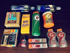 The ultimate athlete snack pack!