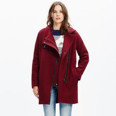 City Grid Coat : jackets | Madewell