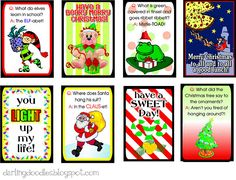 Lunch Box Notes series...the Christmas edition.  Share the magic of the season with these little notes in your kid's lunch box!