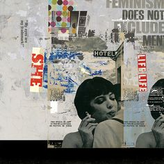 Feminism Does Not Exlude Men by MisenArt, via Flickr  100cm x 100 cm