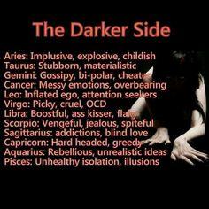 dark side of astrology aquarius
