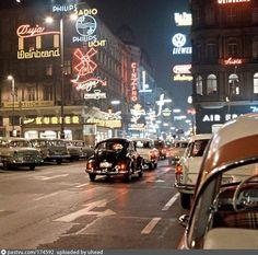 1959 1959 Austria 1959 Vienna 1959 Innere Stadt , Austria 1,794 78 677 ,  Vienna 1,646 69 589 ,  Innere Stadt Vienna Austria, Retro, We Heart It, Times Square, Street View, History, Places, Volkswagen Beetles, Vw