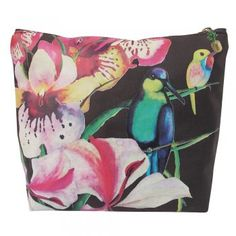 This gorgeous on-trend Disaster Designs Havana Tropical Bird Wash Bag is the perfect wash bag to store toiletries in style this summer. Disaster Designs, Tropical Birds, Havana, Wash Bags, Accessories, Color, Jewels, Style, Swag