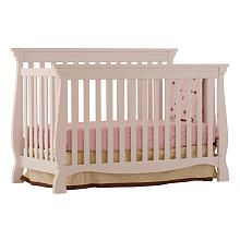 "Stork Craft Venetian 4 in 1 Fixed Side Convertible Crib - White - Storkcraft - Babies ""R"" Us"