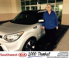 https://flic.kr/p/KS4y8R | #HappyAnniversary to Johnny and your 2015 #Kia #Soul…