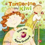 Character Tangerine visit us from Tangerine & Kiwi visit the Apple Orchard by Laila Heloua | World Literary Cafe