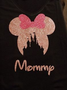 Disney family shirts, personalized disney iron on vinyl, iron on decals, di Disney Vacation Shirts, Disney Shirts For Family, Disney Trips, Matching Disney Shirts, Disney Vacations, Disney Diy, Disney Iron On Transfers, Disney Decals, Mickey Y Minnie