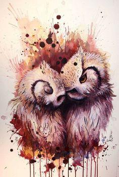 Owl Art ~