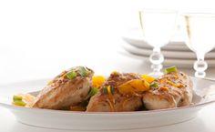 Epicure's Orange-cranberry Chicken Orange Peel Chicken, Cranberry Chicken, Cranberry Sauce, Boneless Chicken Breast, Chicken Breasts, Epicure Recipes, Gluten Free Recipes, Healthy Recipes, Chicken Runs