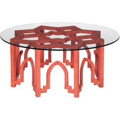Moroccan Design Coffee Table ($1,279) ❤ Liked On Polyvore Featuring Home,  Furniture,