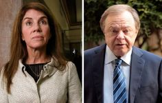 reuters 11-11-14 Sue Ann Hamm and Continental Resources Chief Executive Officer Harold Hamm in a combination image.   REUTERS/Files