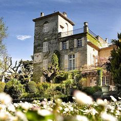 dior: Christian Dior's house Le Château de la Colle Noire is once again opening its doors in Grasse (South of France) #diorlesparfums #diorgrasse