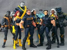 Ultimate Cyclops (Marvel Legends) Custom Action Figure