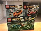 3 LEGO SETS SPEED CHAMPIONS 75881  75880  75879 NEW SEALED FREE SHIPPING
