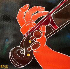 Mano violín