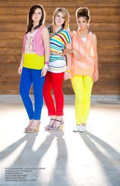 How to Wear Colored Jeans by Kathleen Clipper Photography