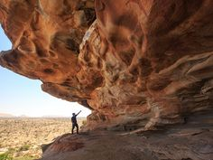 """Lass Geel means """"camel watering hold"""" Paintings located 1 hour north of Hargeisa."""