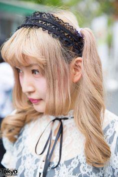 Harajuku Girl with Twin Tails