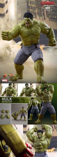 Hot Toys' New Hulk Is Here, And It Wants To Smash Everything Hot Toys has unveiled the newest edition to its Age of Ultron line, and as you can tell from the above pic, the Hulk appears to be very, very angry. The figure is also pretty tall, standing at an imposing 17 inches.  Read more at http://nerdapproved.com/approved-products/hot-toys-new-hulk-is-here-and-it-wants-to-smash-everything/#fYWLIMzqds2W7eRC.99