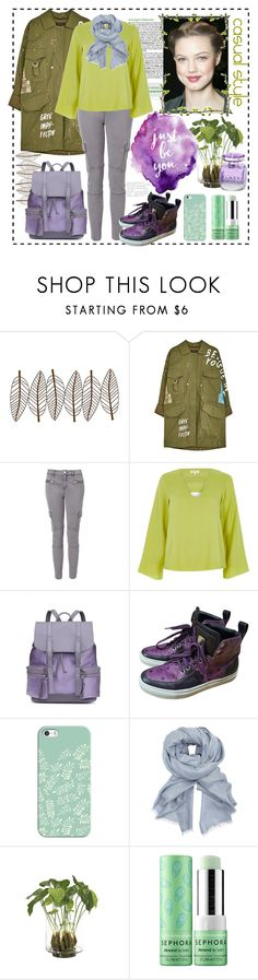 """Casual style"" by natalyapril1976 ❤ liked on Polyvore featuring New View, Witchery, River Island, MCM, Casetify, John Lewis, NDI, Sephora Collection and Jimmy Choo"