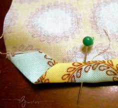 Sewing Mitered Corners Tutorial