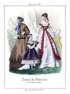 1866 Journal des Demoiselles 12 dec