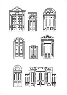 48 Best ★【Architecture Decoration Drawings】★ images in
