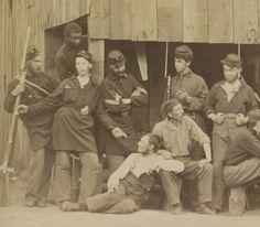 Co D, 1st Rhode Island Infantry, 1861.