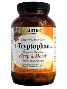 Lidtke- L-Tryptophan 180 caps
