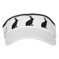 black_rabbit_silhouette_easter_bunny_visor-r03944ec6036947909caa9013e9f3c78b_zrn3k_324.jpg (324×324)