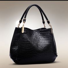 Women's Patent Leather Handbags Alligator Shoulder Crossbody Bags Messenger Bag Hobos Women Tote Bags Source by Bags handbags Trendy Handbags, Vintage Handbags, Fashion Handbags, Purses And Handbags, Luxury Handbags, Cheap Handbags, Cheap Purses, Popular Handbags, Handbags Online