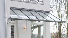 Dachverglasung mit Stahlkonstruktion