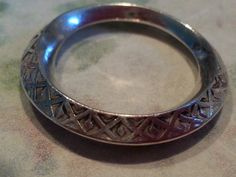 Sterling Silver Wedding Band Ring Flat 925 by MyYiayiaHadThat, $30.00