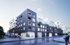 156 units housing project, Pantin (93) - Nexity (Ensemblier Urbain - Antonini Darmon